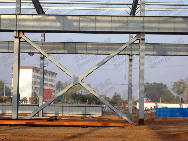 洋浦工业园钢结构厂房